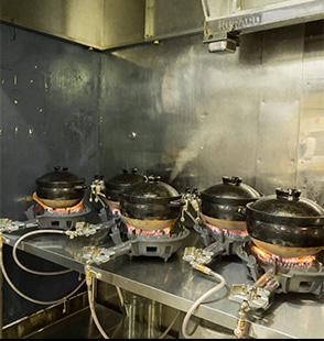 加熱調理室